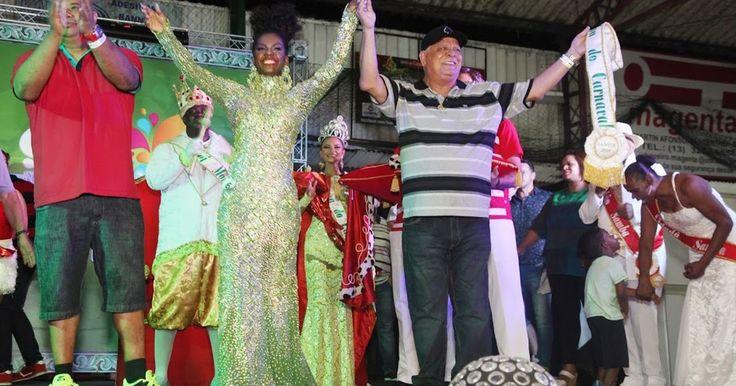 Corte Carnavalesca de Santos é eleita em noite de festa no Marapé
