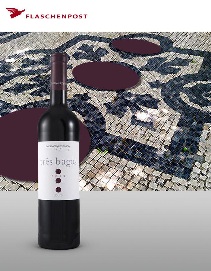Tres Bagos - ein Wein der aus drei Traubensorten besteht. Findet ihr heraus welche das sind?