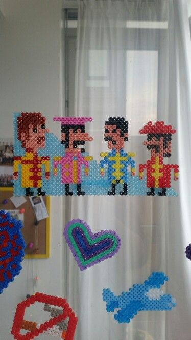 Sgt. Peppers lhcb #Beatles#hama#beads