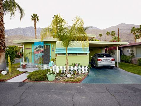 Small Dreams Trailer Parks In Palm Springs A Typology By Jeffrey Milstein Now On Double Wide TrailerMobile Home