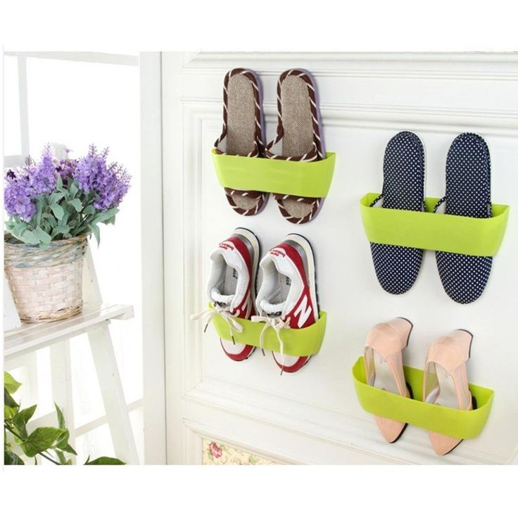 DZT1968 Hanging Wall Shoes Rack Door Wall Vertical DIY Shoe Rack Bathroom Shoe Rack >>> Discover this special product, click the image : Christmas Luggage and Travel Gear