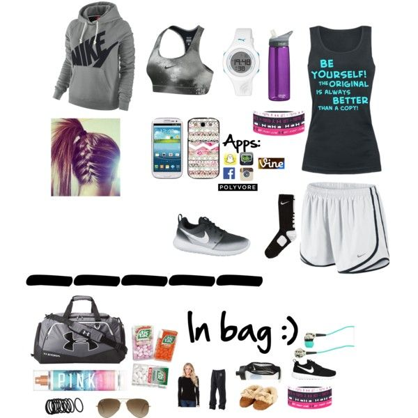 Cute outfit for track meet.
