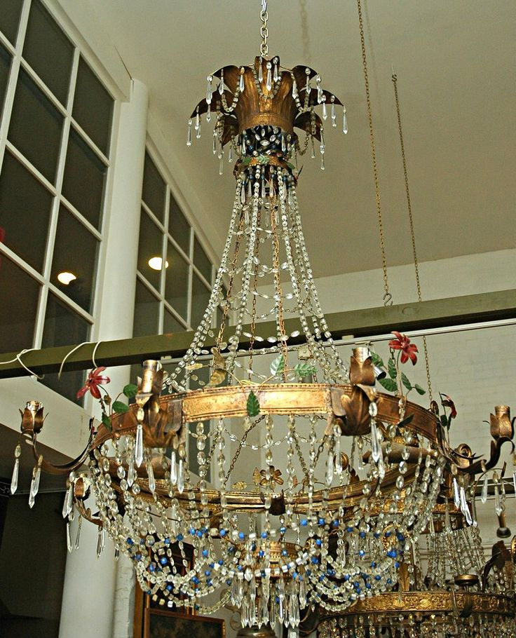 20 best selection of luxury antique lighting images on pinterest graham geddes antiques a rare pair of 18th century italian crystal and brass chandeliers mozeypictures Images