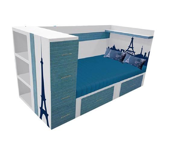 M s de 25 ideas incre bles sobre cajones bajo cama en pinterest almacenamiento bajo la cama - Cajonera bajo cama ...