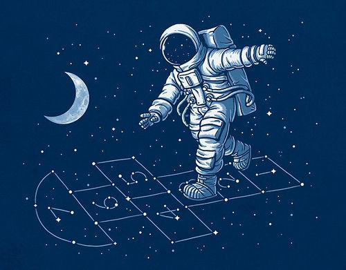 Astronaut Hopscotch