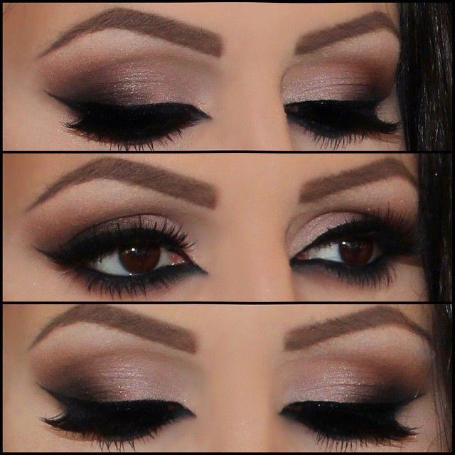 olho glam com profundidade e expressão look ideal pra noites glamurosas
