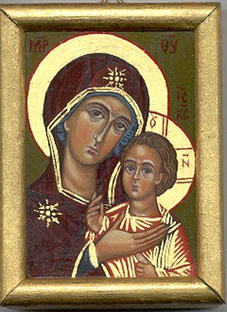 Madre di Dio di PETROV  www,mirabileydio.it