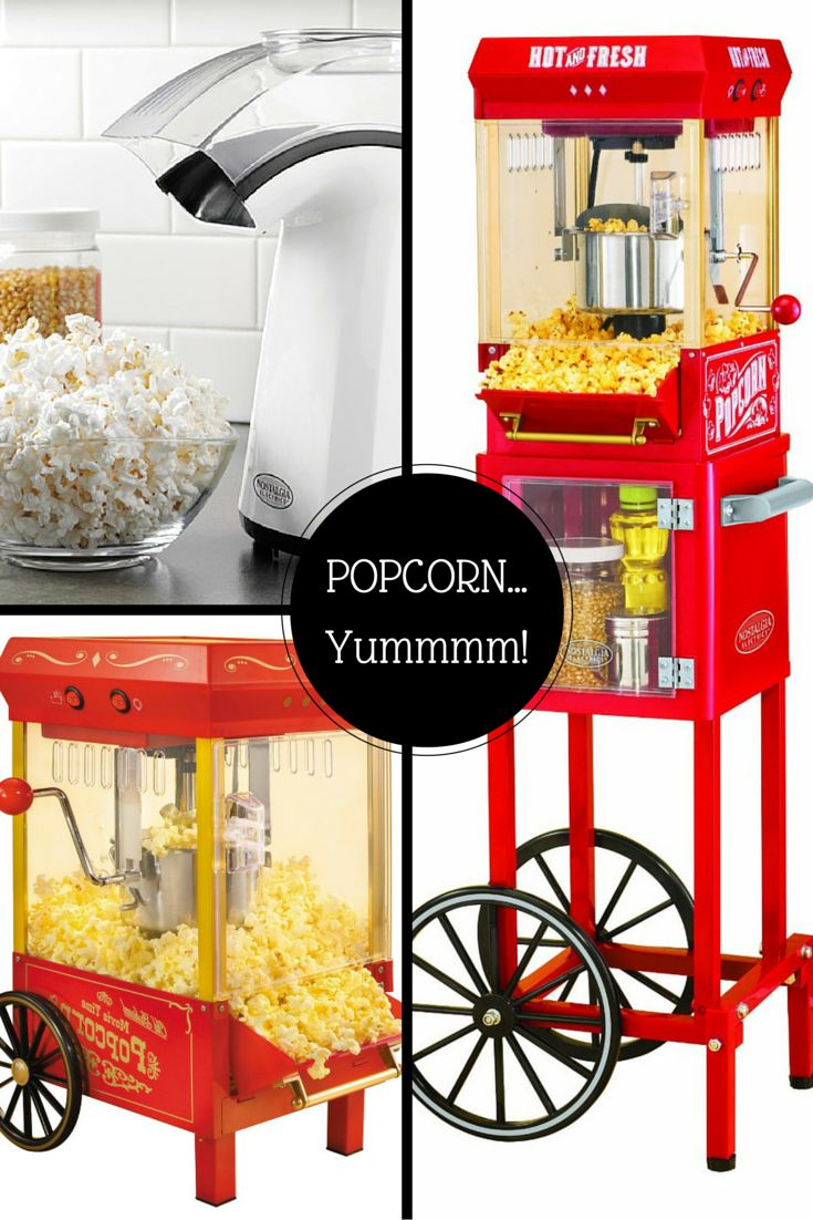Air popped or from the kettle...popcorn is always delicious!