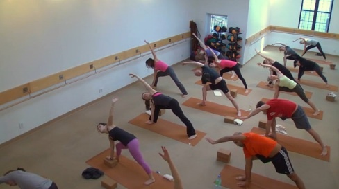 core fusion® yoga inspires students with a combination of