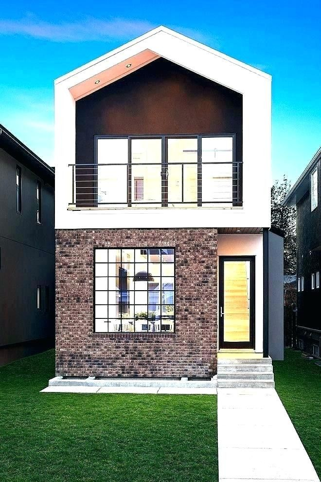 Low Cost Modern Homes 2020 2 Storey House Design Simple House Design Modern Small House Design