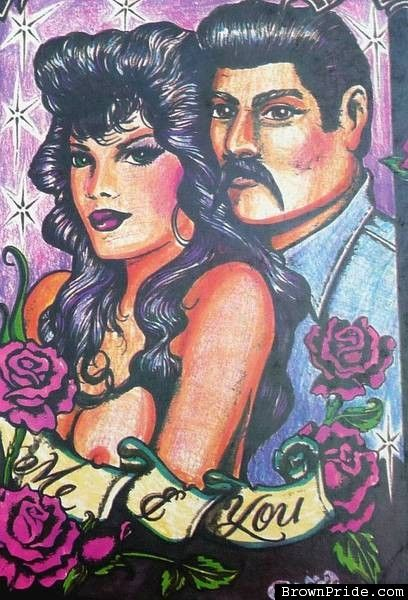 Me and You Chicano • Chicana Art and Graphics