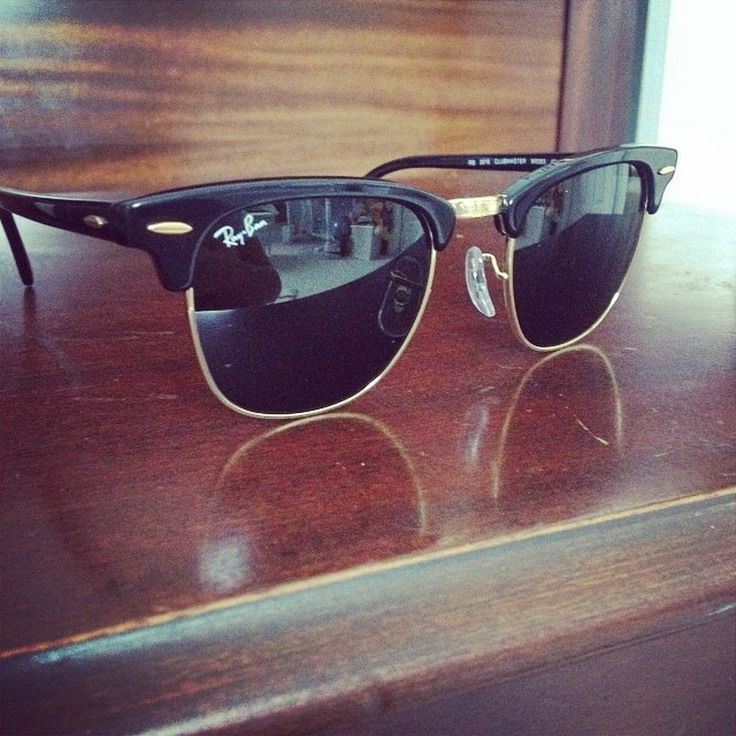 Will have these dude. Ray Ban Clubmaster #Ray #Ban #Clubmaster