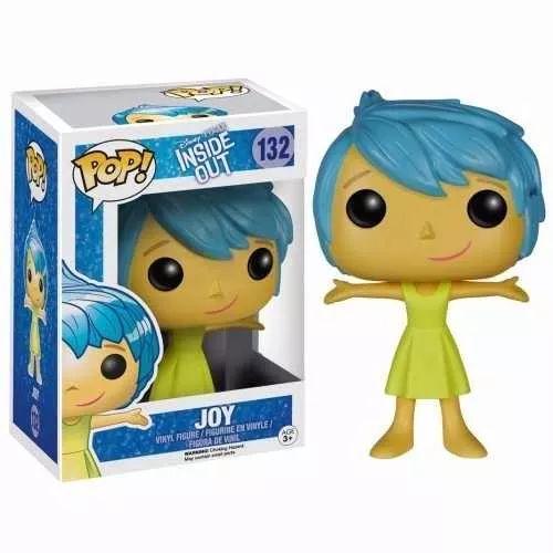 alegria (joy) # 132 intensamente - funko pop original!