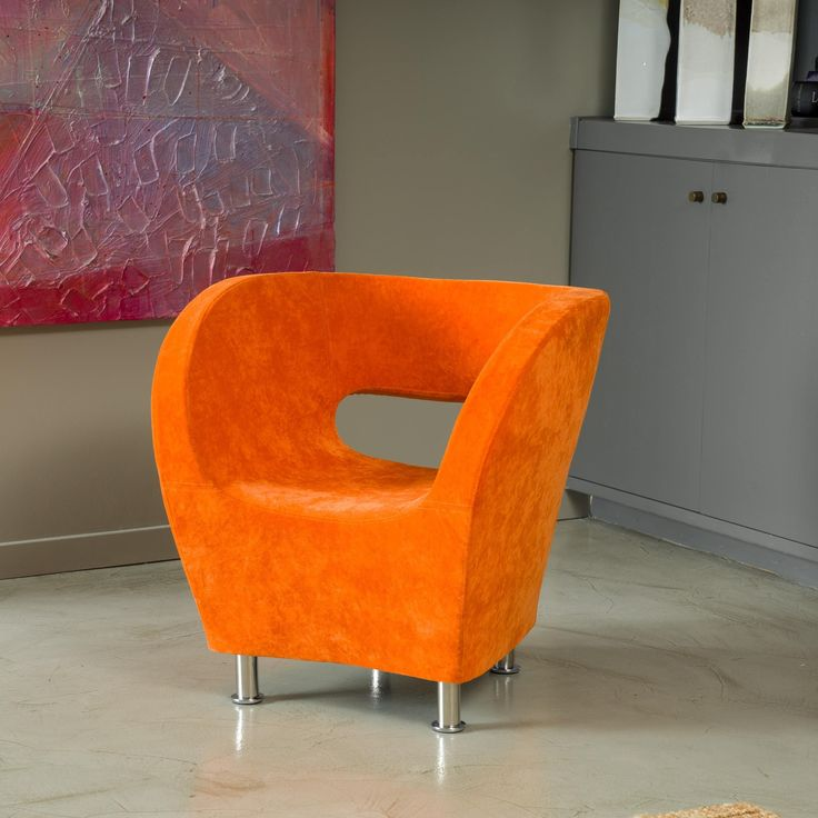Living room chairs orange accent chair orange furniture