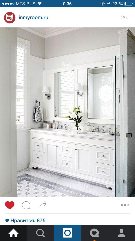 beautiful white bathrooms - 700×1000