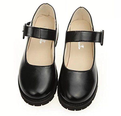 awesome Women Oxford Shoe, Ladies School Uniform Dress Shoes Black Red  Cosplay | Women oxford shoes, Dress shoes womens, School uniform shoes