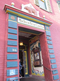 Madison Bear Garden (Chico, California)...best burgers ever just ate there a few weeks ago :)
