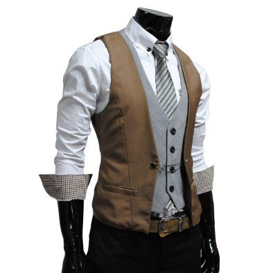 GOT!  Vest for groom, snazzy!