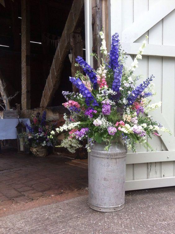 Best Casual Flower Arrangements Images On Pinterest Rustic