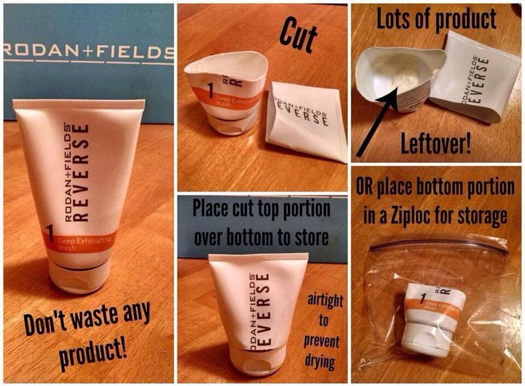 Get the most bang for your buck! Cut your Rodan + Fields bottle and use every…