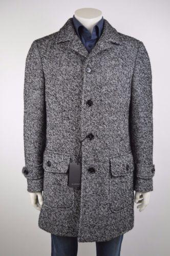 Baldessarini-Herren-Mantel-Schurwolle-Coat-Jacke-Wolle-50-L-NEU-UVP-599-00