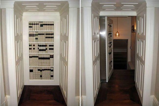 MENTŐÖTLET - kreáció, újrahasznosítás: 'Titkos ajtók', 'titkos szobák'