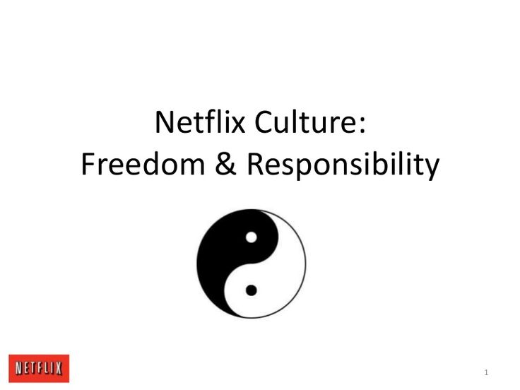 The infamous Netflix corporate culture deck. From personal experience I can tell you: yes, they are dead serious about every single thing.