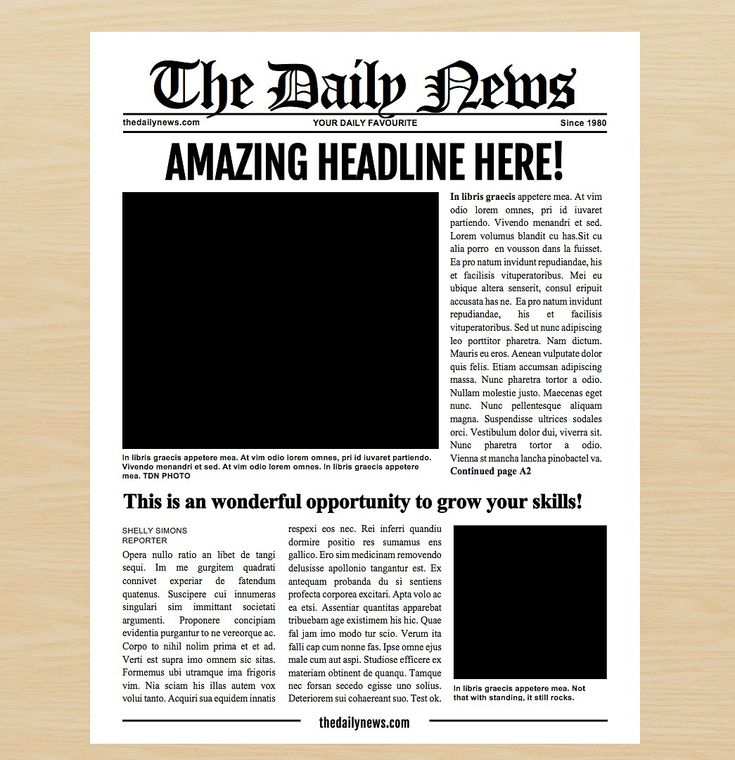 Newspaper Template Png Demire Agdiffusion Pertaining To Blank Newspaper Png 201820623 Newspaper Template Newspaper Article Template Blank Newspaper
