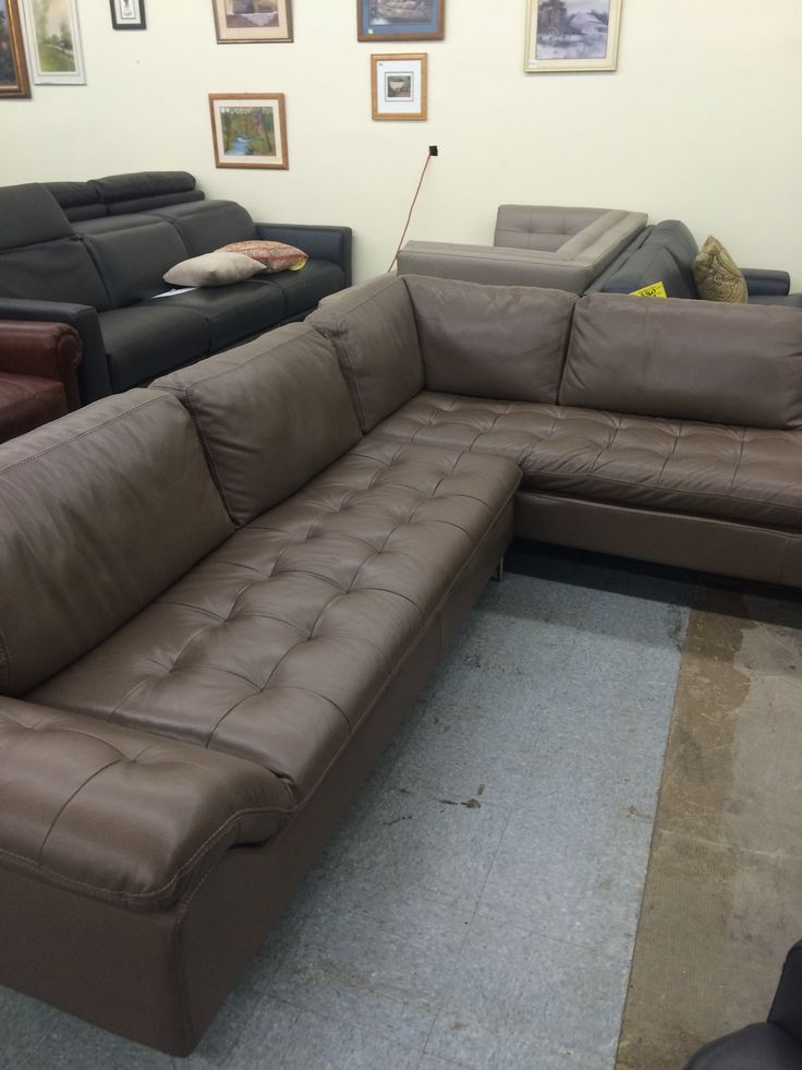 Chateau Du0027ax Corisca 2pc Leather Sectional W/RF Chaise This Would Be  Selling In Most Mid To High End Furniture Stores For Over $5045.00 This  Nice ...