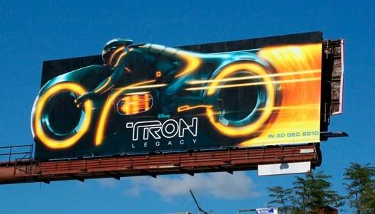 Valla publicitaria - Tron