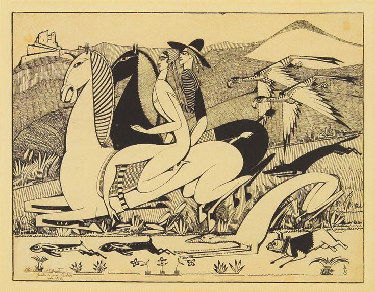 Amadeo de Souza-Cardoso, The Hawks, 1912.