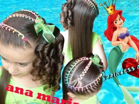 Peinados Infantiles Princess Magic - YouTube