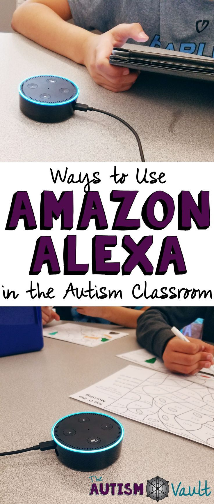 Amazon Alexa is a great tool to use in the autism classroom to teach communication and executive functioning skills. Read about how I use this powerful tool with my students with autism.