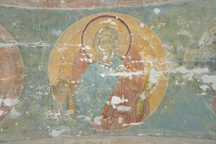 Музей фресок Дионисия - Купол, барабан и паруса - Праотец Аред (Иаред)