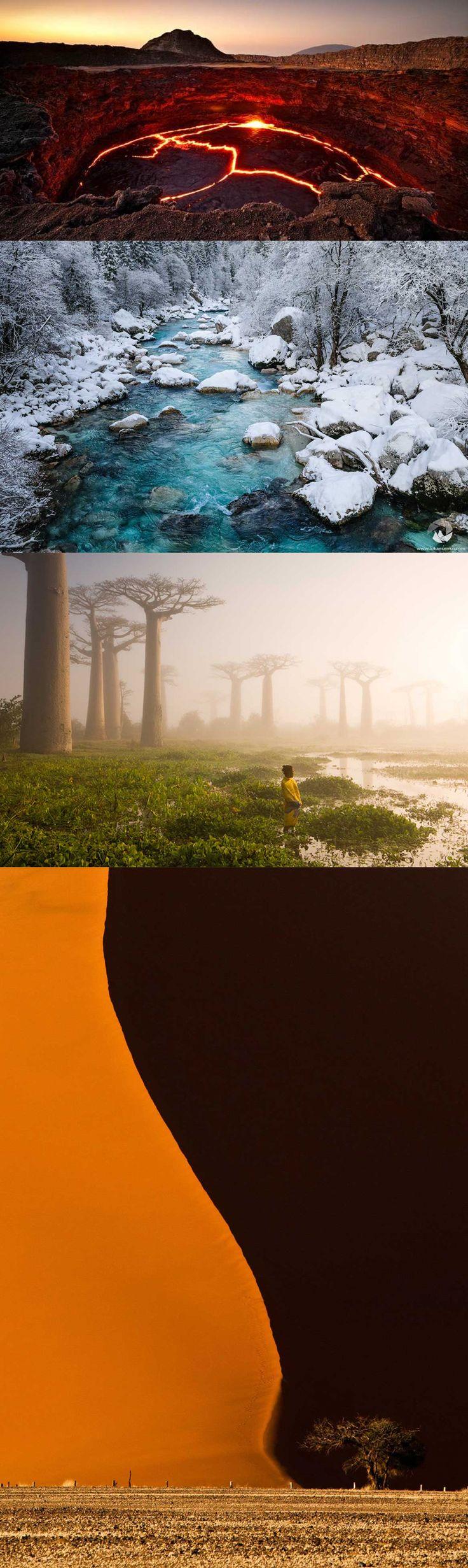 20 amazing photos of natural landscapes around the world. See all: http://sala7design.com.br/2014/12/20-fotos-incriveis-de-paisagens-naturais-ao-redor-mundo.html