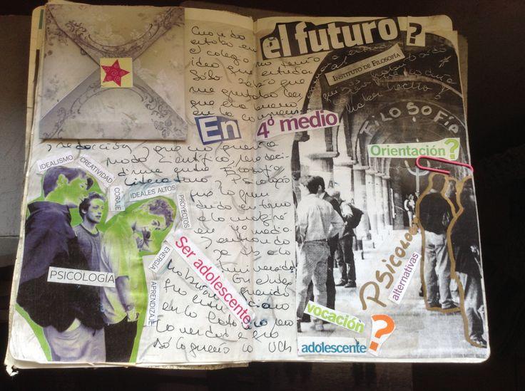 #Collage #LifeProject #ArtJournal El futuro? -  Mónica Osorio