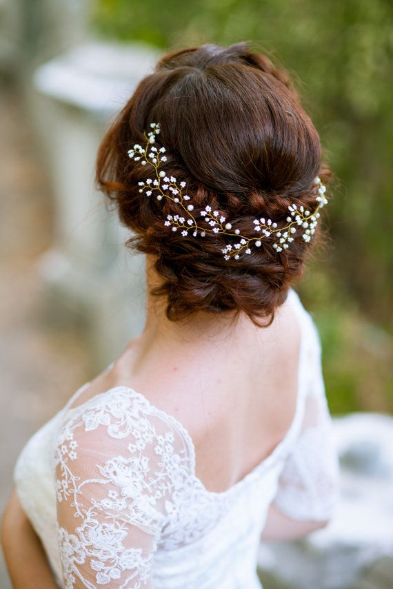 Bridal hair vine Bridal headpiece Wedding hair piece Wedding