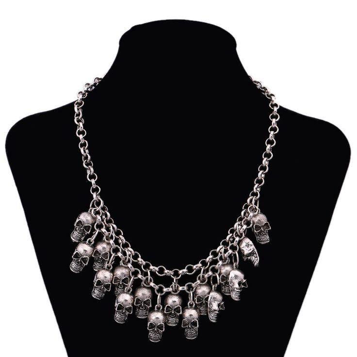 Skull Adorned Original Necklaces Pendants //Price: $10.69 & FREE Shipping //     #skull #skullinspiration #skullobsession #skulls