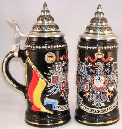 2010 Deutschland Coat of Arms LE German Beer Stein - Authentic Beer Steins from Germany - 1001BeerSteins.com