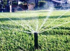 Replacing a sprinkler head!