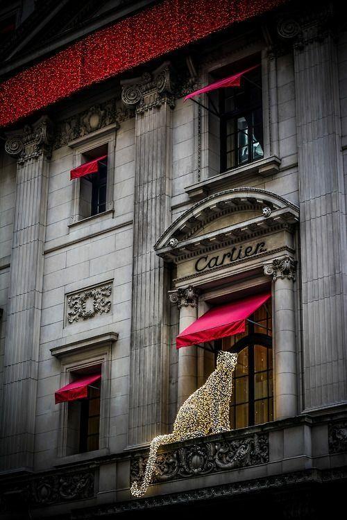 Cartier mousseux à Paris - Christmas at Cartier