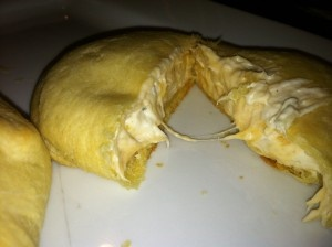 "Chicken, Cream Cheese, Cheese, Ranch Crescent Rolls ""Chicken Pockets"" SO GOOD!"