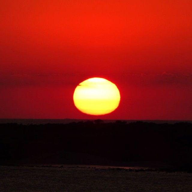 Así puedes despedir cada día desde la terraza de #FuerteConilCostaLuz / Everyday you can say goodbye to a new day from Fuerte Conil-Costa Luz terrace #Conil #CostadelaLuz #Cadiz #fuertehoteles #Andalucía
