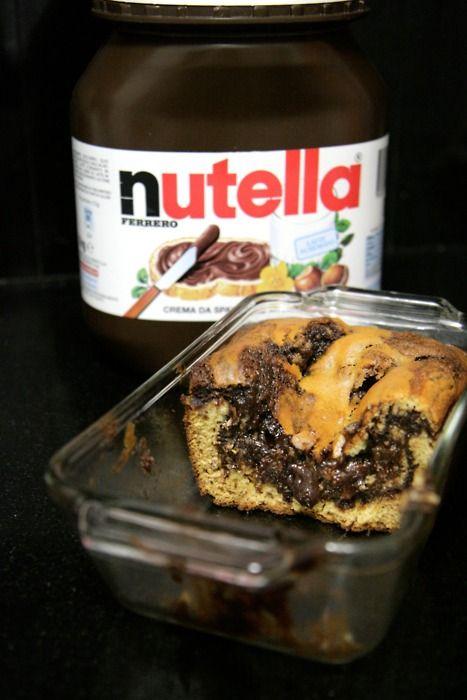 Nutella banana bread.