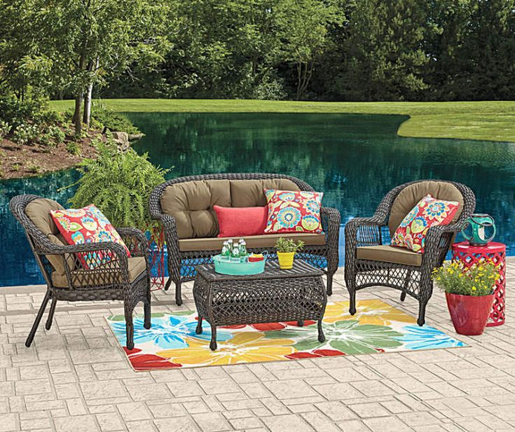 I found a Wilson & Fisher Hampstead Patio Furniture Collection at Big Lot