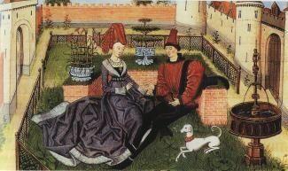 Renaud de Montauban, Oriande e Maugis, 1468, Parigi, Bibliothèque de l'Arsenal
