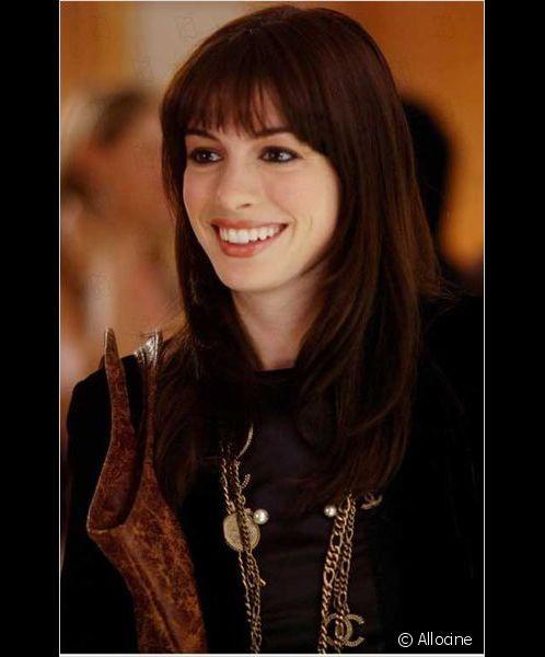 Anne Hathaway ne  Il Diavolo veste Prada .