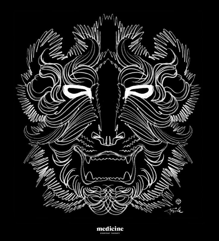Tomek Sadurski for Medicine print on men's t-shirt