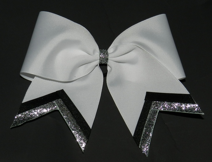 Texas Size Cheer bow - single layer - trimed ends -  squad discounts. $6.00, via Etsy.