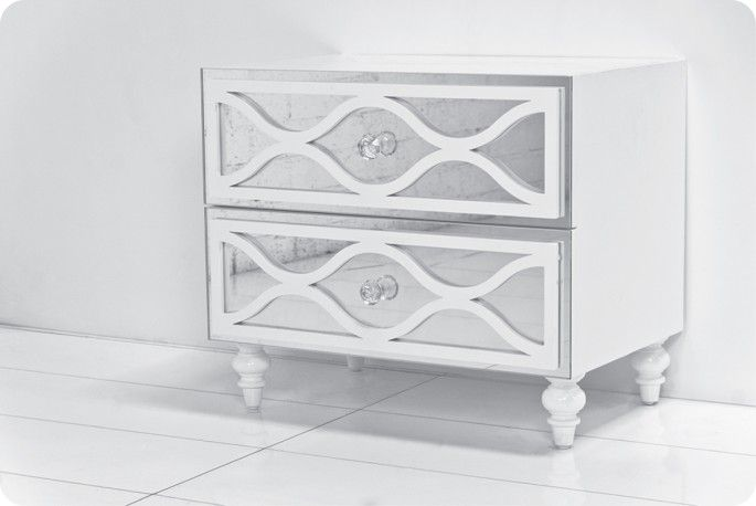 mirrored side table living room santorini mirrored side table room service side 22804